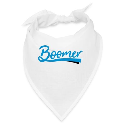 Boomer - 2 color text - diy - Bandana
