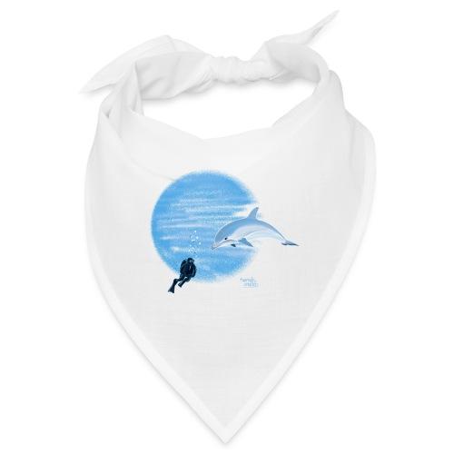 Dolphin and diver - Maillots - Bandana