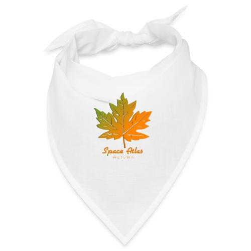 Space Atlas Long Sleeve T-shirt Autumn Leaves - Bandana