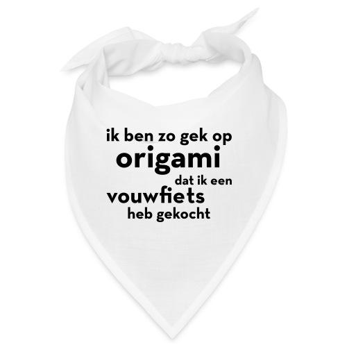 Origami - Vouwfiets - Bandana