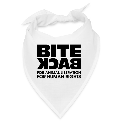 Bite Back logo - Bandana