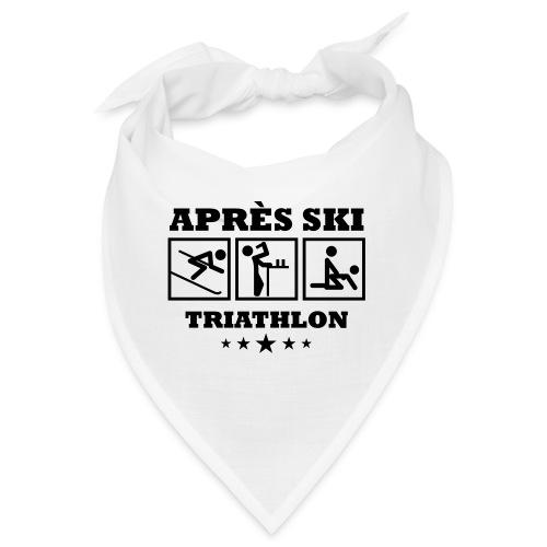 Apres Ski Triathlon | Apreski-Shirts gestalten - Bandana
