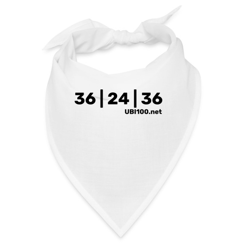 36 | 24 | 36 - UBI - Bandana
