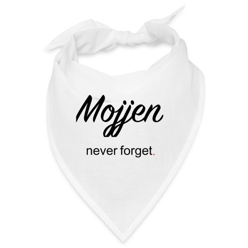 Mojjen - Never forget - Snusnäsduk