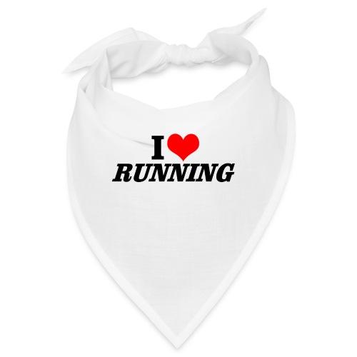 I love running - Bandana