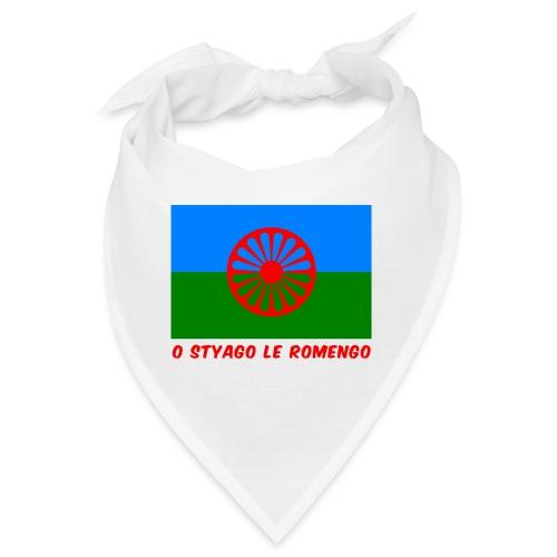 o styago le romengo flag of romani people t-shirt - Bandana