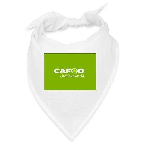 CAFOD Logo greenback - Bandana