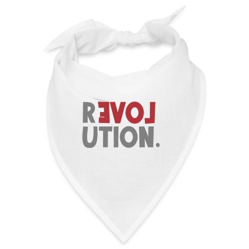 Revolution Love Sprüche Statement be different - Bandana
