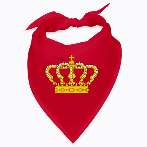 Golden crown - Bandana