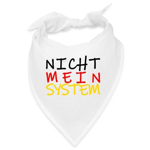 NICHT MEIN SYSTEM - Bandana