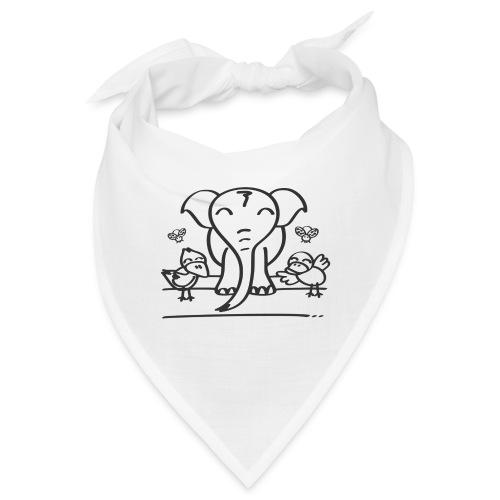 78 elephant - Bandana