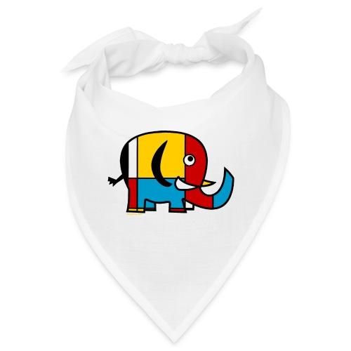 Mondrian Elephant - Bandana
