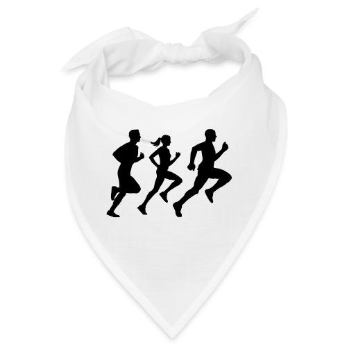 runner group Läufer Gruppe Team - Bandana