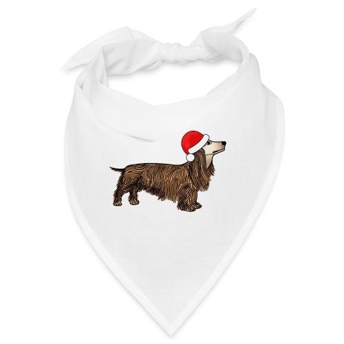 Christmas dachshund - Bandana
