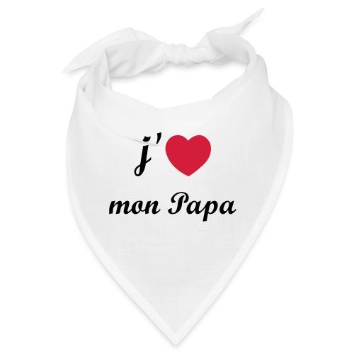 J'aime mon papa - 01 Vecto - Bandana
