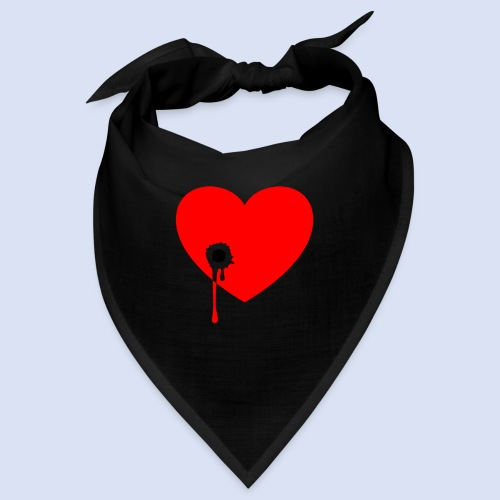 Cœur troué - Bandana