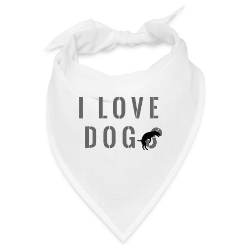 I love dog - Bandana