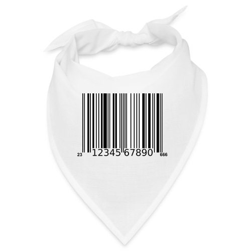 Barcode Tshirt ✅ Jetzt kaufen - Bandana