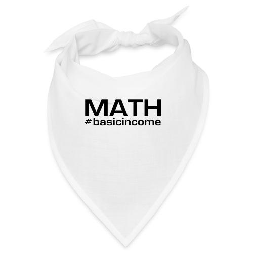 math-black - Bandana