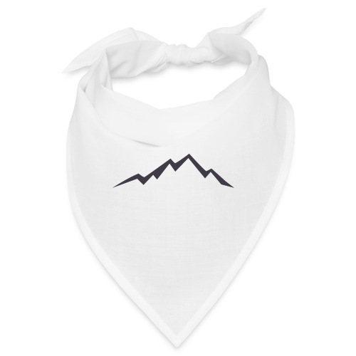 swiss alps clipart sihllouette ski mountains - Bandana