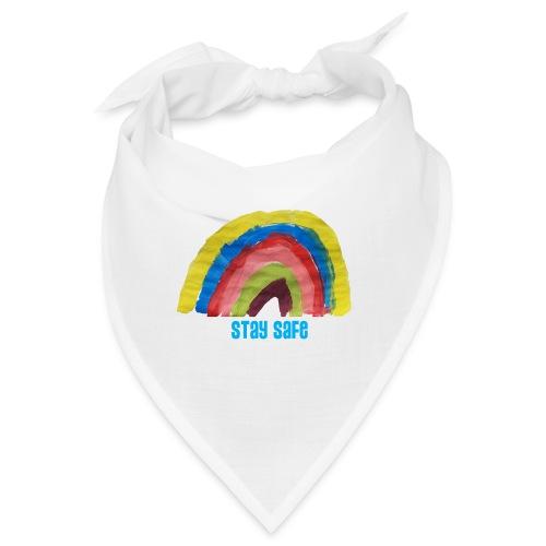 Stay Safe Rainbow Tshirt - Bandana
