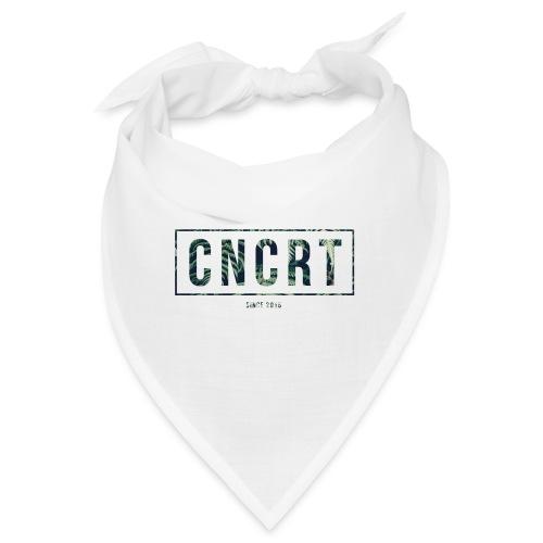 CNCRT white shirt (Plant Print) - Bandana