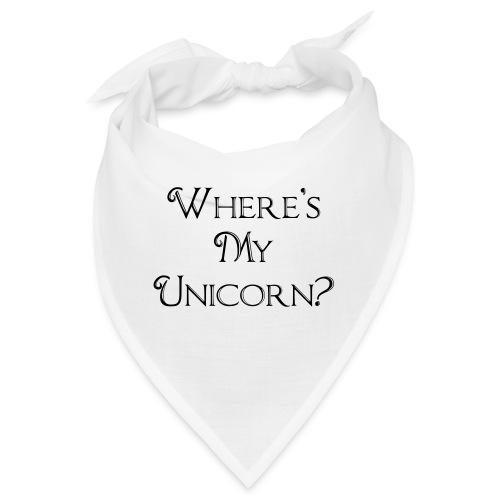 Where's My Unicorn - Bandana