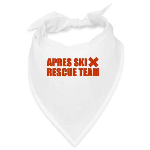 apres-ski rescue team - Bandana