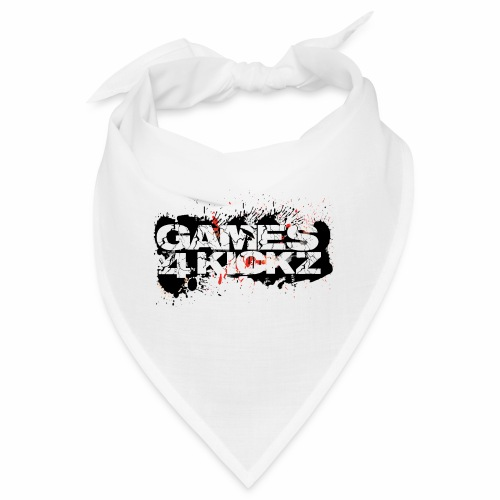 Games4Kickz Logo Splattered Background - Bandana