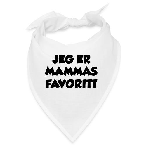 «Jeg er mammas favoritt» (fra Det norske plagg) - Bandana