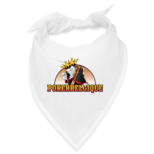 Logo Poker Belgique - Bandana