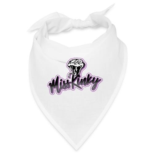 Logo Miss Kinky violet - Bandana