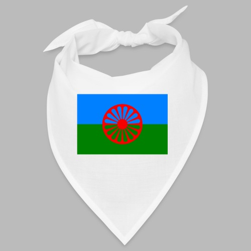 Flag of the Romani people - Snusnäsduk