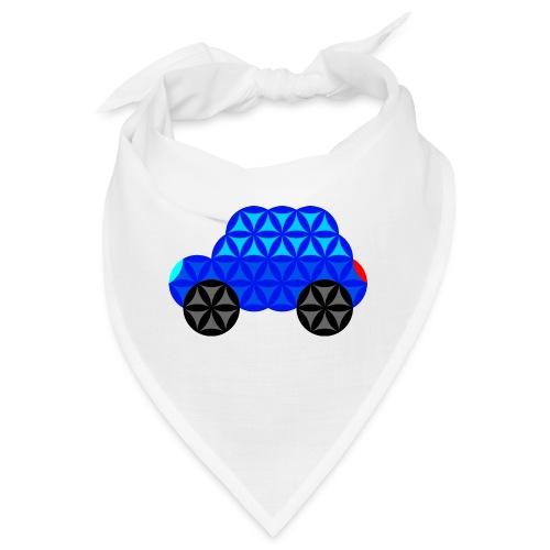 The Car Of Life - M01, Sacred Shapes, Blue/R01. - Bandana