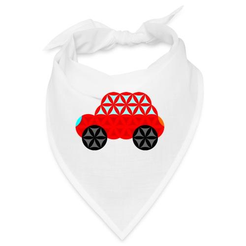The Car Of Life - M01, Sacred Shapes, Red/R01. - Bandana