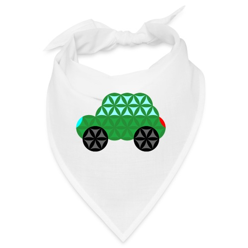 The Car Of Life - M02, Sacred Shapes, Green/363 - Bandana