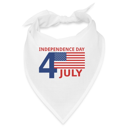 4 luglio giorno della indipendenza - Bandana