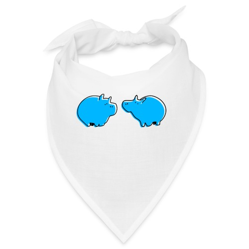 Cochons bleus - Bandana