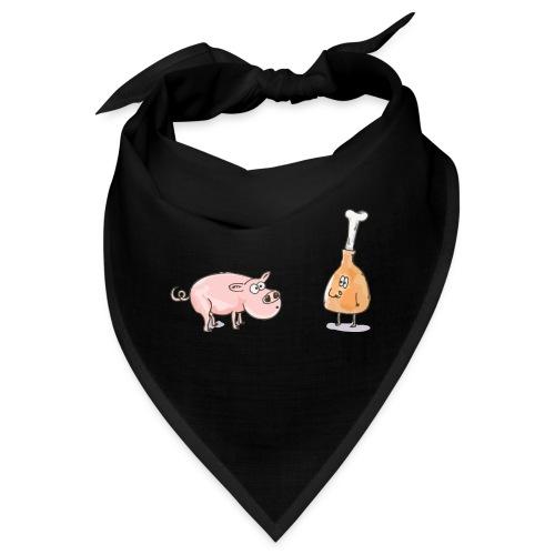 Le cochon et le jambon - Bandana