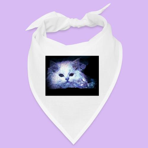 Gatto bianco glitter - Bandana