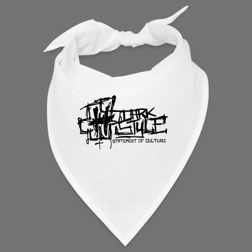 Tumma Style - Statement of Culture (musta) - Bandana