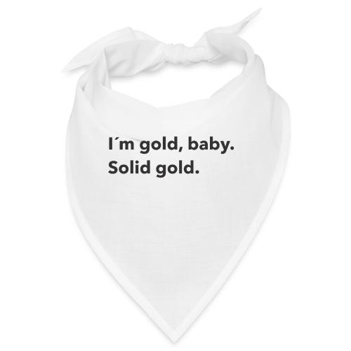 Gold baby - Snusnäsduk