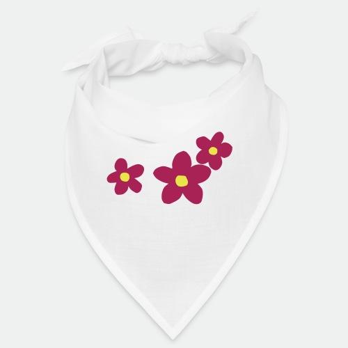 Three Flowers - Bandana