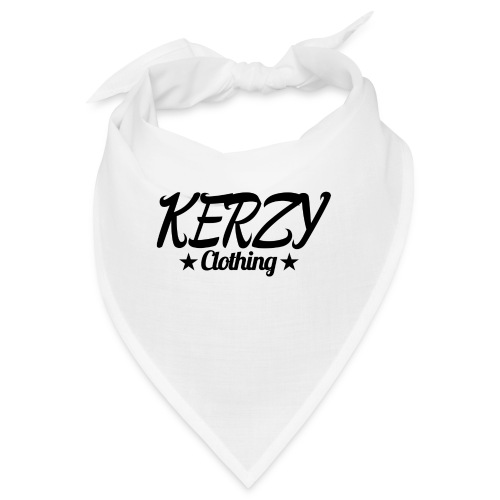Official KerzyClothing T-Shirt Black Edition - Bandana