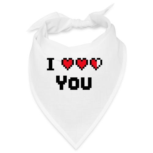 I pixelhearts you - Bandana
