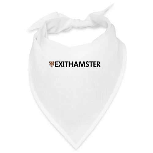 HAMSTER HEAD LETTERING - Bandana
