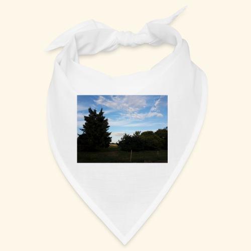 Feld mit schönem Sommerhimmel - Bandana