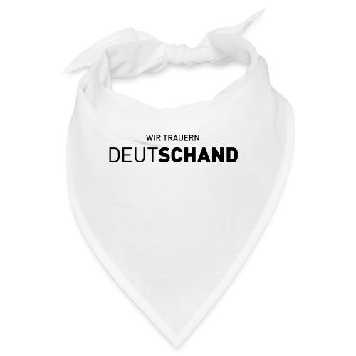 WIR TRAUERN Deutschand - Bandana
