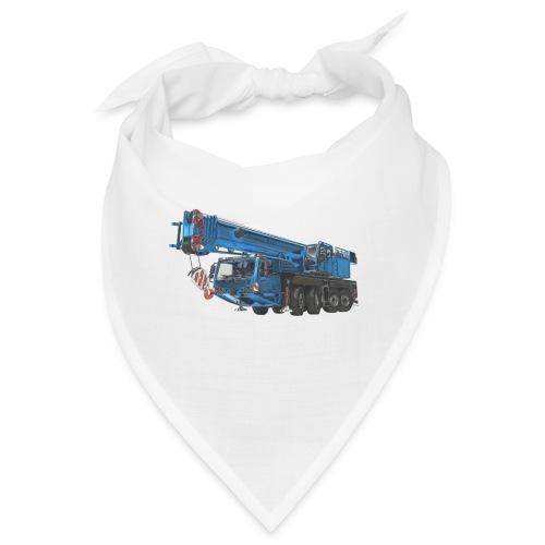 Mobile Crane 4-axle - Blue - Bandana