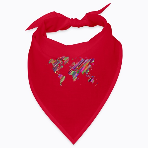 world colorful - Bandana